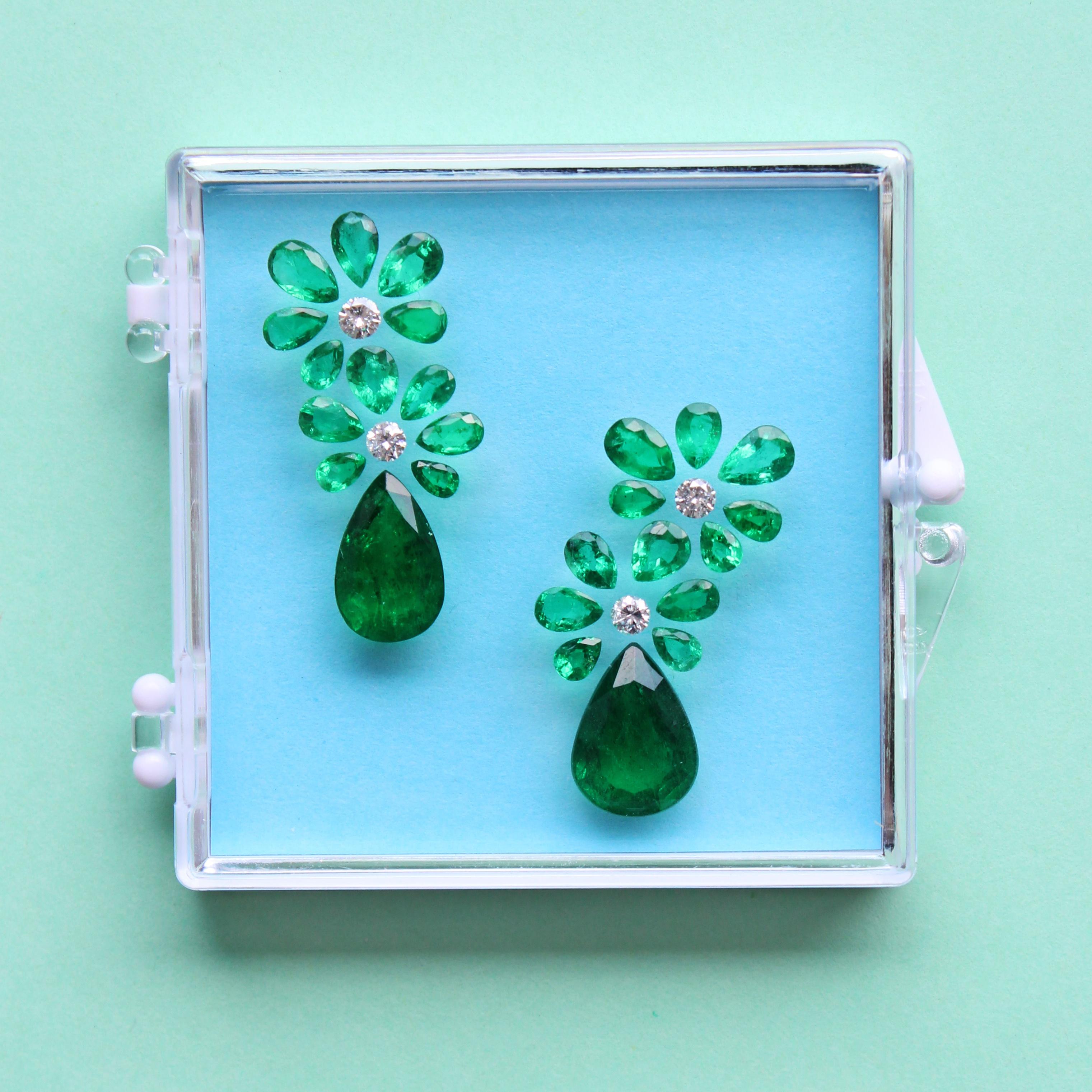 emerald in the box